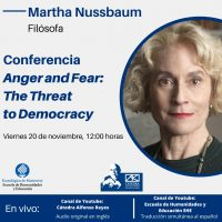 Conferencia Martha Nussbaum